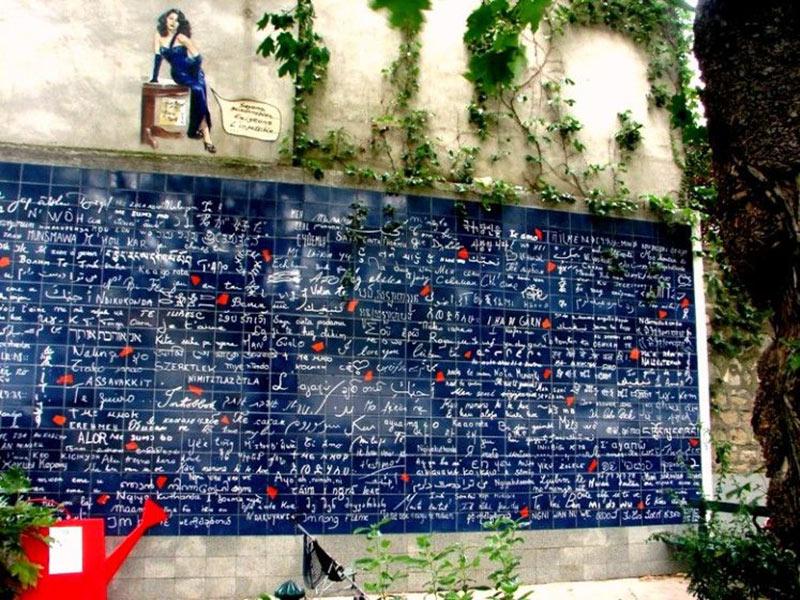 O muro dos eu te amo