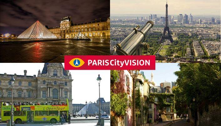 Atividades Paris PARISCityVISION