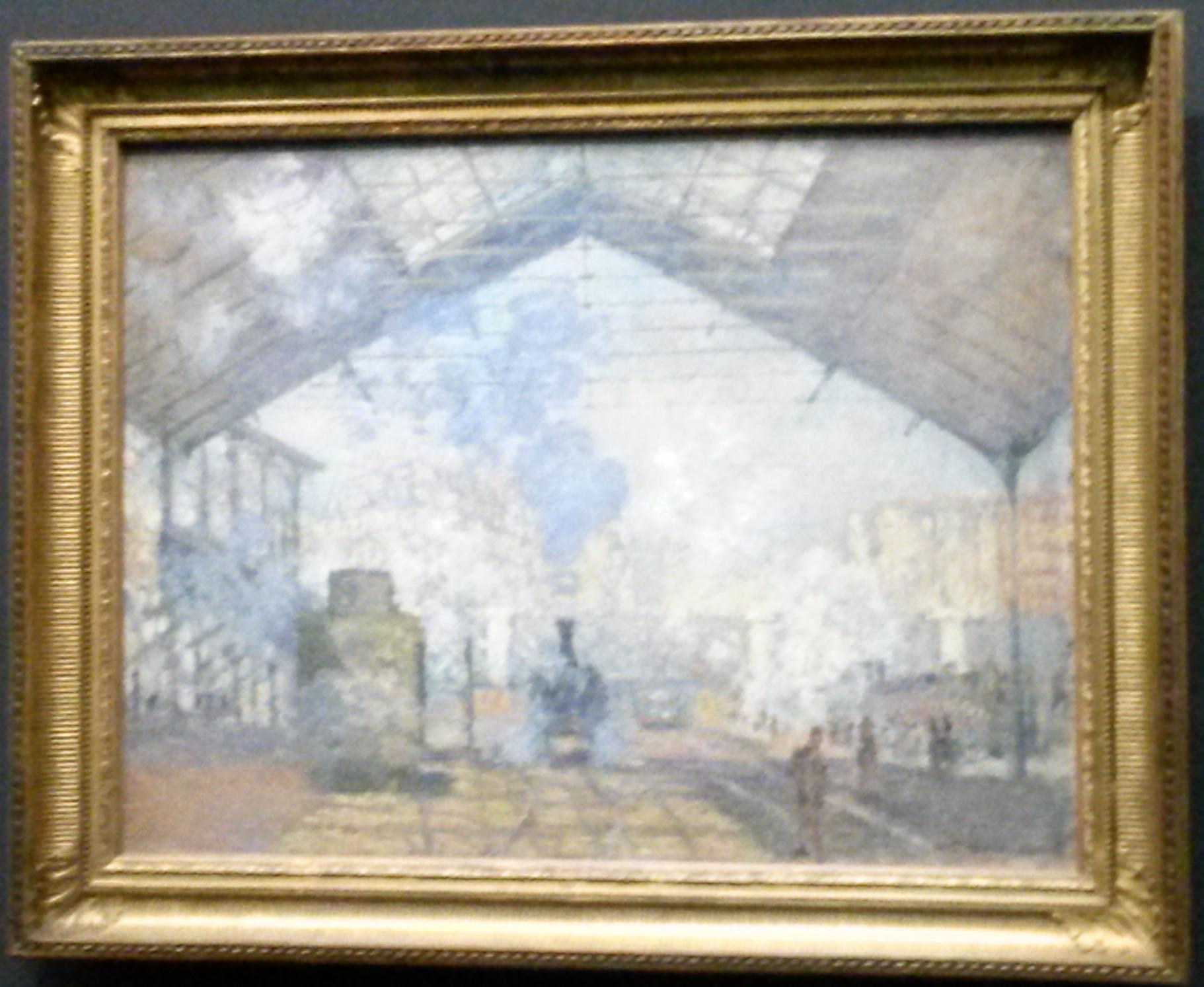 A Estação Saint-Lazare