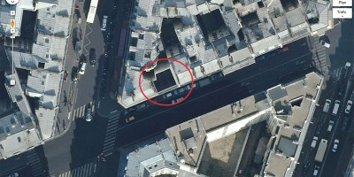 145 rue de la Fayette, Google Plan