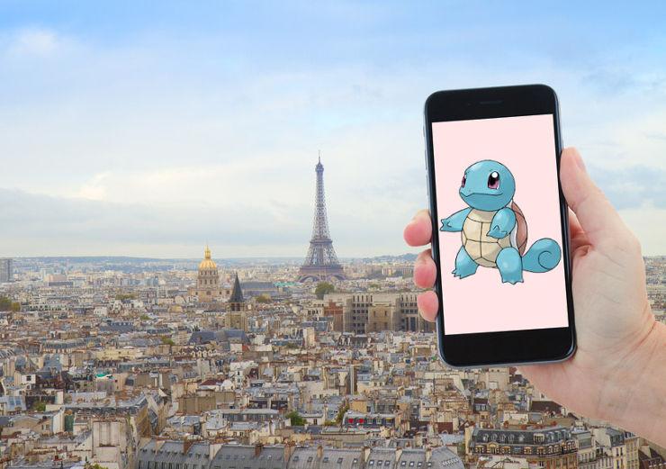 ¡Los Pokémons llegan a París!