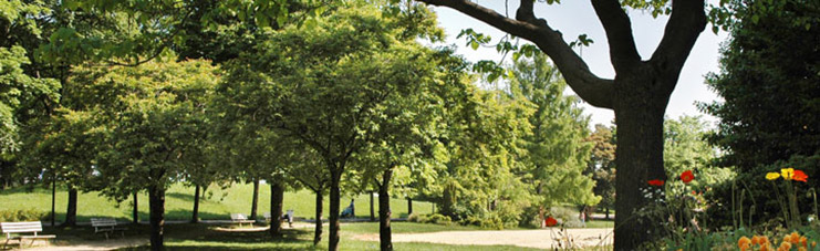 Photographie du Parc Omnisport Suzanne Lenglen