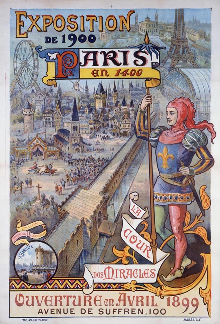 Affiche de l'exposition universelle de 1900