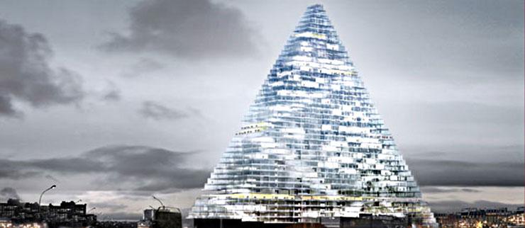 Projet de la Tour Triangle à Paris