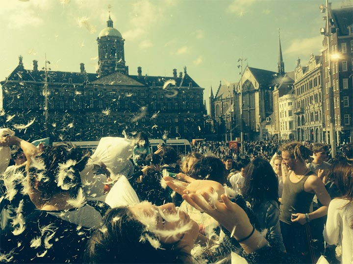 International Pillow Fight Day 2015