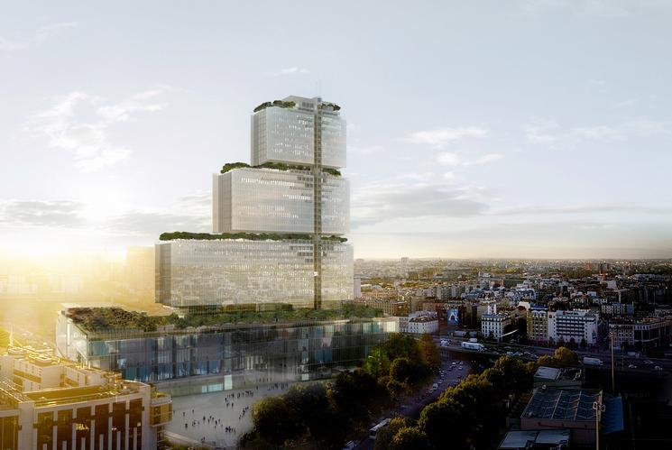 Le futur Palais de Justice à Paris