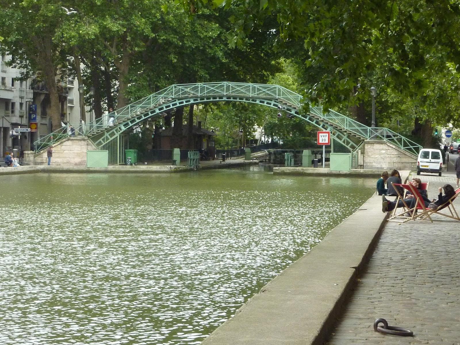 Croisière sur le Canal Saint Martin