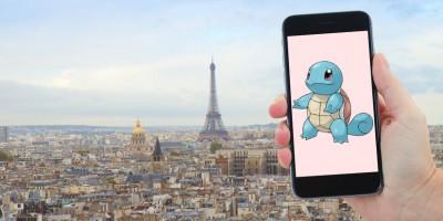 Pokémons à Paris