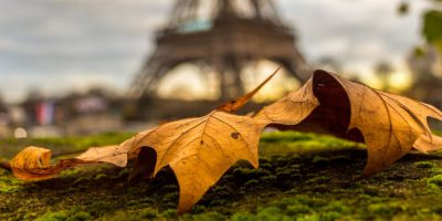 Tour Eiffel en automne