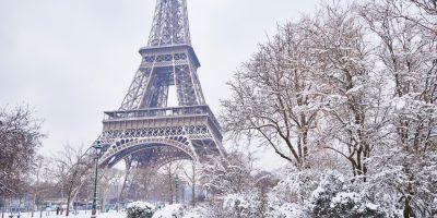 Tour Eiffel en Hiver - Crédits Fotolia
