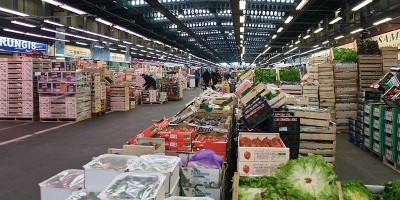 A Stand of market of Rungis
