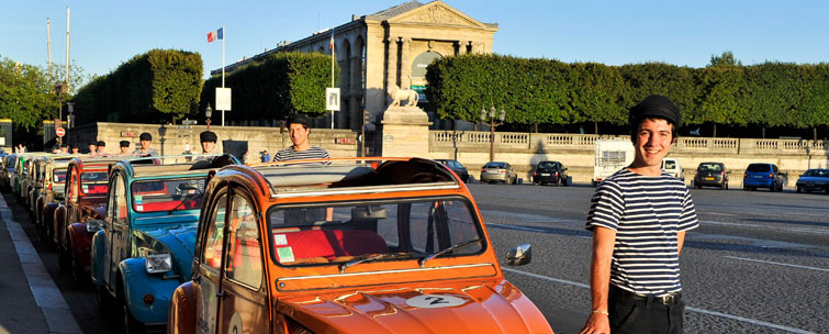 Paris in a 2CV