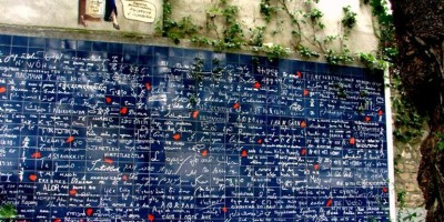 Picture of I love you Wall in Paris