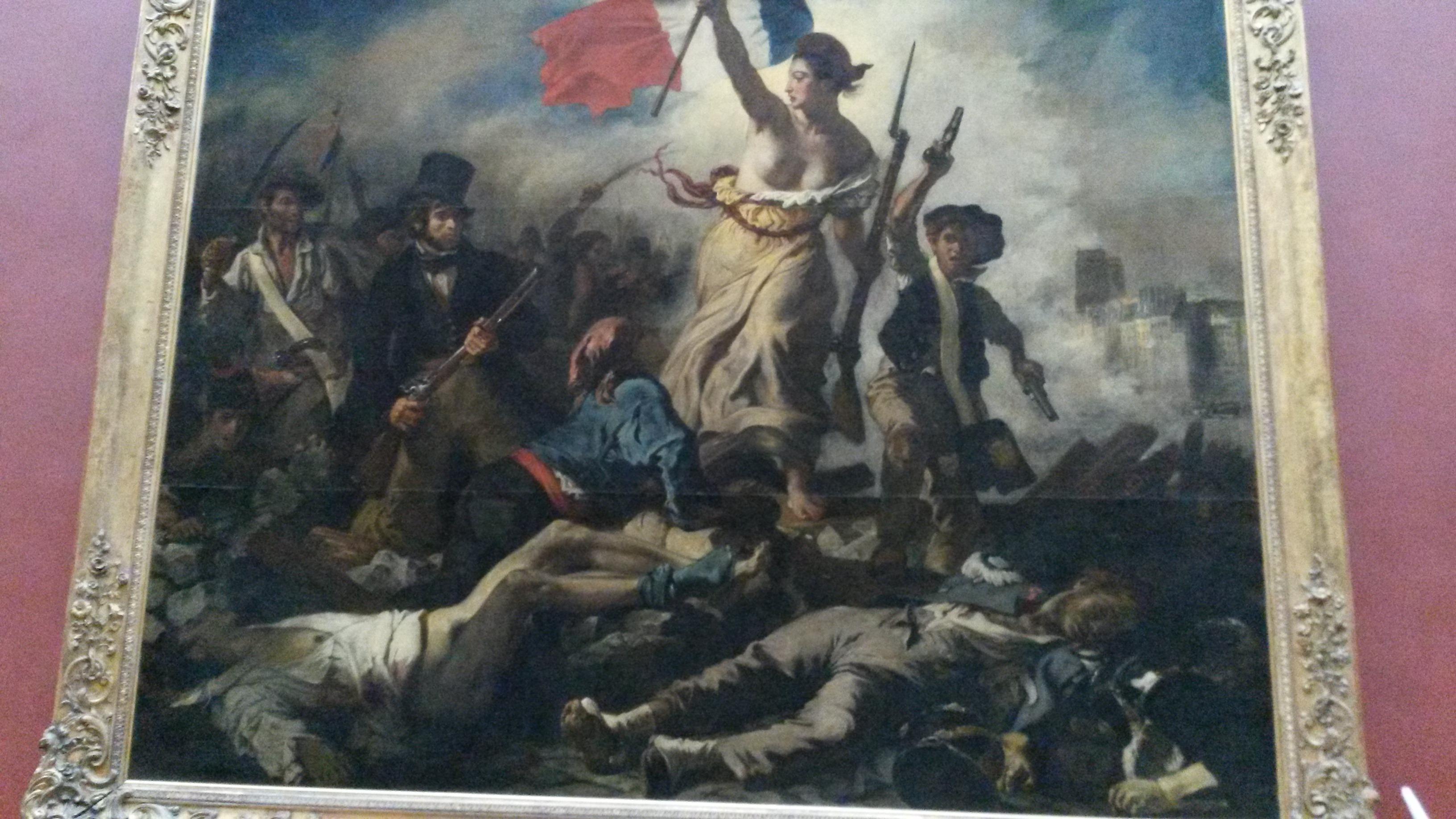 Liberté guidant le peuple