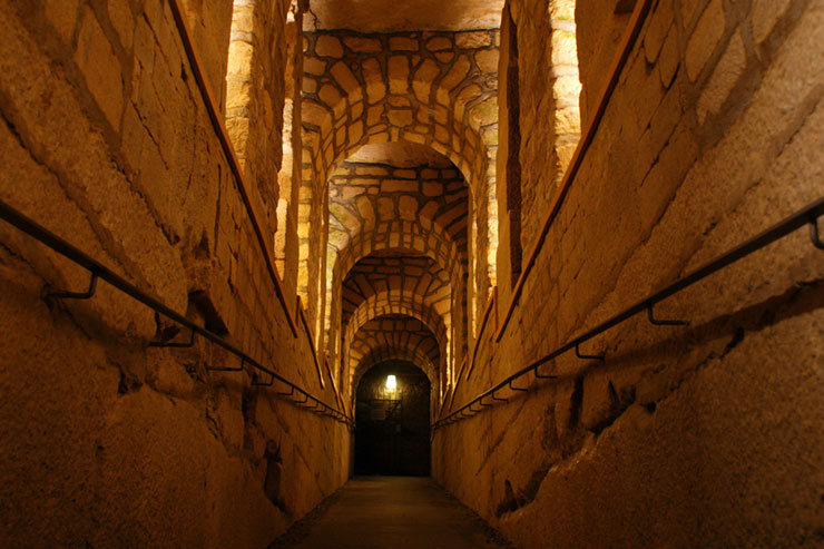 Entry of the Catacombs in Paris